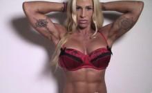 Jill Jaxen Sexy Muscle Stuffed Into Lingerie