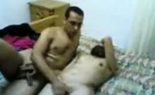 Amateur Arabic Couple Getting It On