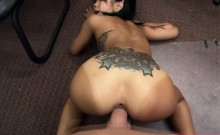 Small and beautiful asian woman gets her pussy hammered