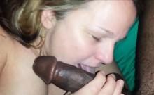 Mature chick interracial cocksucking