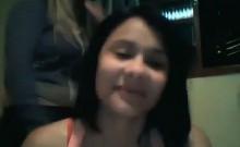 Three Cute Girls Fooling Around