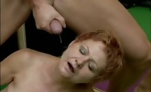 Mature dame fucked