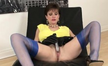 Unfaithful british mature gill ellis presents her massive ho