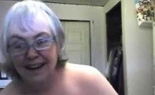 Old obese senior and sex toy