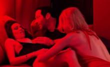Swinger wives doing striptease hot babes group