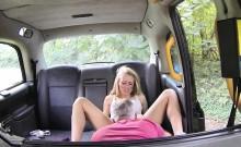 Tiny blonde babe Carmel loves big dick