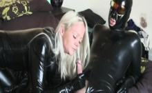 Latex cum on her experience
