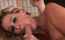 Bigtits milf banged by younger cock