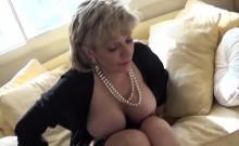 Unfaithful British Mature Lady Sonia Presents Her Massive Ho