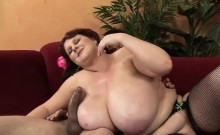 Fat slag with big tits gets screwed