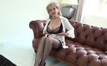 Unfaithful british milf lady sonia shows her large titties