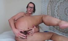 Big ass MILF from Milfsexdating Net riding a dildo