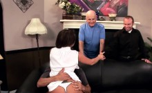 Tempting hot milf takes a stiff cock deep inside her fleshy