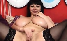 Mature with Big and Round Breasts