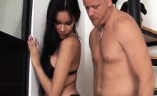 Latina Shemale Anally Fucked By Hard Dick