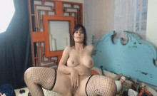 Hard Masturbation of Horny Babe