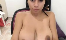 Busty Seducing Hot Homemade Striptease