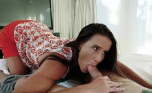Caring stepmom Sofie Marie gets boned by her horny stepson