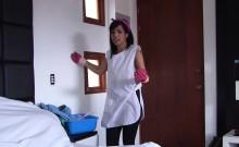OPERACION LIMPIEZA - POV sex with hot Latina cleaning lady