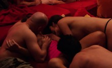 Horny Swingers Pleasing Each Other In A Reality Show