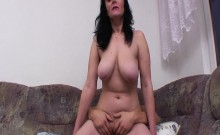 Busty Mother Fucking Sons Cock