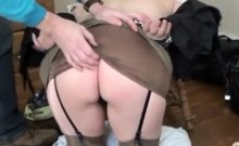 Testing Butthole Of Tied Sub Housewife Anna