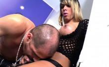 Bigbooty Brazilian Tgirl Pounds Male Ass Bare