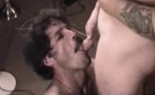 Old Bears Blowjob For A Gaystraight Amateur