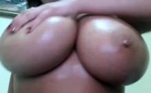 Webcams 2014 - Romanian With Big Ass Titties 3 Oil Show