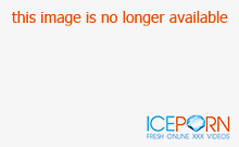 Busty chick gets DP fucked by machines