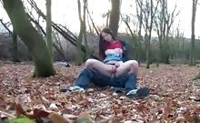 Having sex outdoors