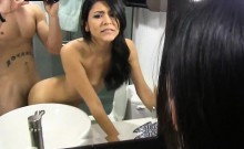 Sexy gal Serena Torres sexcapade with her BF recorded on cam