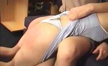 Hot Teen Ass Spanked
