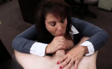 Busty Milf fucked for her husbands bail