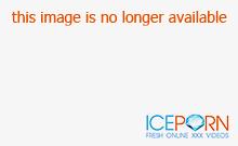 Mallory Starr sucks big dick outdoors