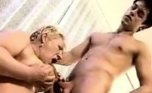 Delivery Boy Fucks A Chubby Grandma