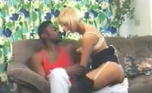 Blonde Gets Some Black In Her Classic
