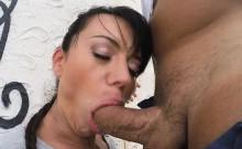 Franceska pounded in many positions