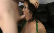Claire Dames big tits pornstar choked