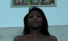 Ebony Beauty Rides Her Well Hung Boyfriend