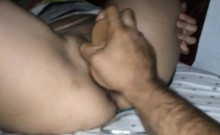 Sultry Latina housewife welcomes a big sex toy deep in her tight cunt