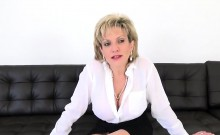 Adulterous english milf lady sonia reveals her large tits