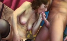 Granny Ivet gets juicy cunt poked