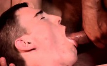 Two twink dudes ass fucking hard in the office for fun