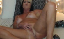 Horny MILF Toying That Pussy And Ass