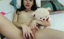 Sweet teen girl hitachi masturbation on cam