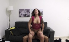Chubby babe fucked by fake cop