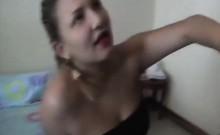 Filthy Latina Whore Fucks Massive Dick