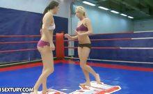 Nude Fight Club Presents Larah Vs. Diana Stewart