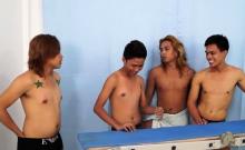 Asian Boy Idol Bound And Tickled